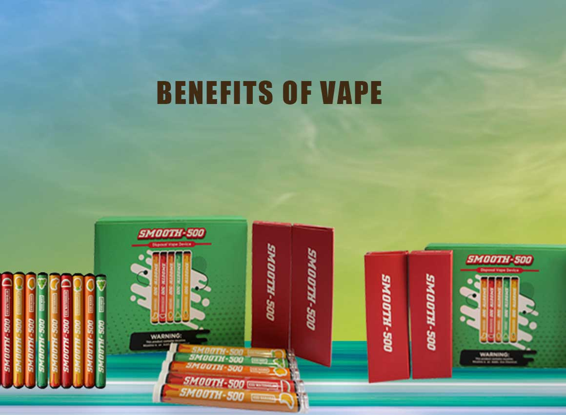 5 Benefits of Vaping