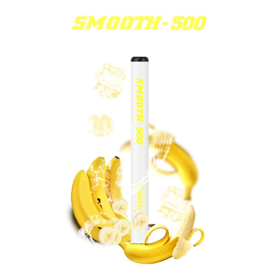 SMOOTH-500 (BANANA ICE) 1 PACK