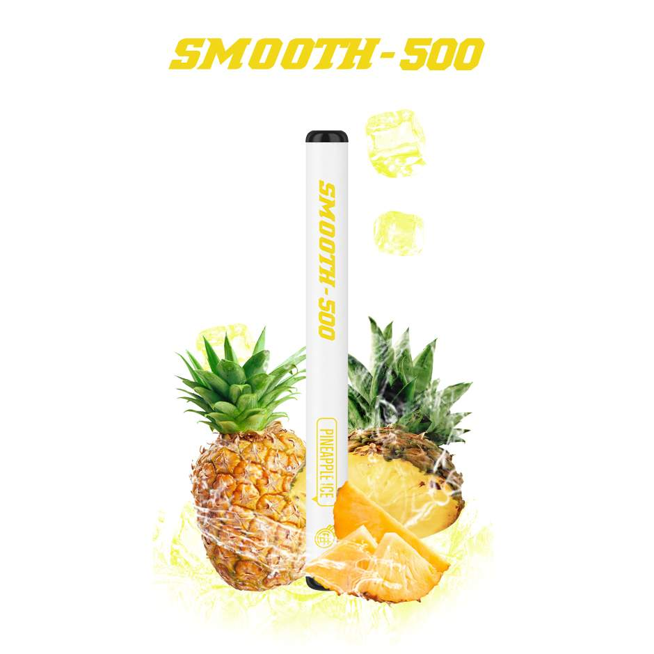 SMOOTH-500 (PINEAPPLE ICE) 1 PACK
