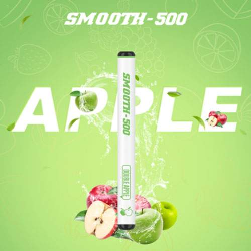 SMOOTH500 Double Apple Disposable Vape (3 Pcs Pack)