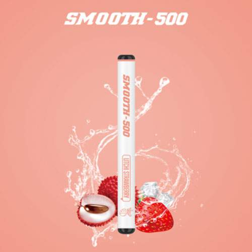 SMOOTH500 Litchi Strawberry Disposable Vape (3 Pcs Pack)