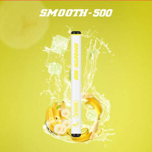SMOOTH-500 Banana ice Disposable Vape (3 Pcs Pack)