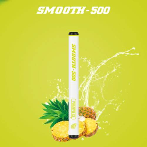 SMOOTH500 Pineapple ice Disposable Vape (3 Pcs Pack)