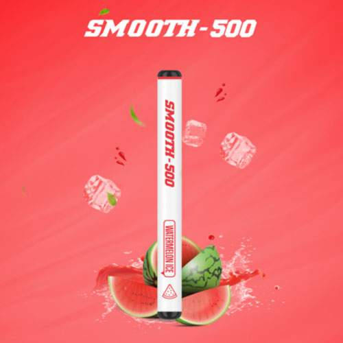 SMOOTH500 Watermelon ice Disposable Vape (3 Pcs Pack)