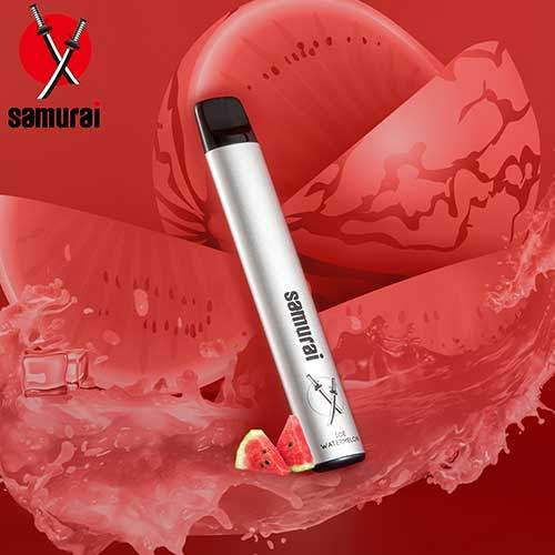Samurai Disposable Vape Kit -  Ice Watermelon  (1 Pieces/Pack)