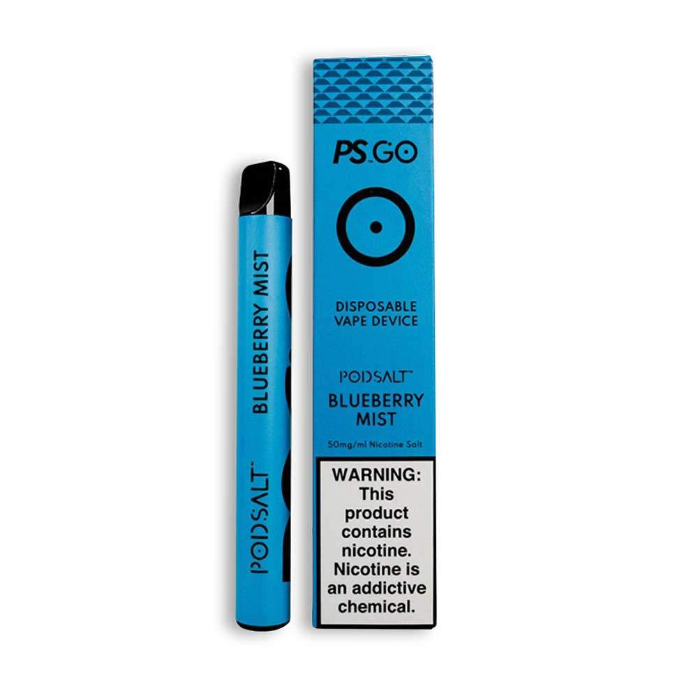 PS GO DISPOSABLE VAPE DEVICE - BLUEBERRY MIST
