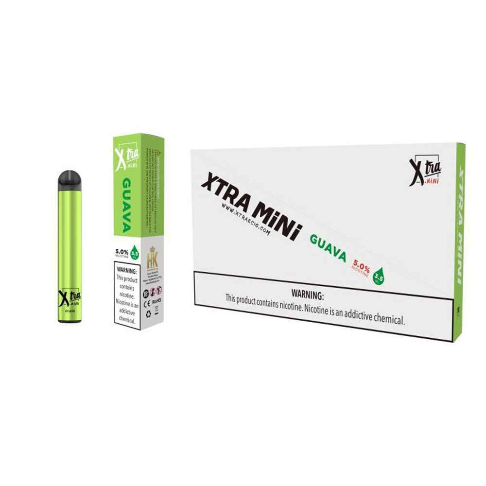 XTRA Mini Disposable Vaporizer – Guava Ice (800 puffs )